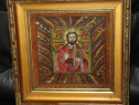 Icoana, Iisus Hristos, Romaneasca, Veche, cu motive populare