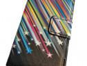 Husa protectie telefon Samsung Galaxy Ace 3, flip, tip carte