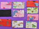 Set 10 maști reutilizabile pentru copii : bumbac/2 straturi
