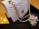 Genti Chanel import Franța editie limitată, saculet inclus
