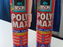 Adeziv pentru suprafete multiple Bison Poly High Tack, alb
