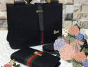 Set GUCCI model office new model (geantă si portofel)
