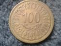 Moneda Tunisia 100 Millièmes nemagnetic