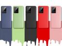 Samsung Note 20 20 Ultra Husa X LEVEL SlimSilicon Catifea