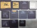 Vintage lot procesoare ceramice 286-486 functionale