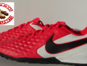 Ghete fotbal sintetic NOI Nike Tiempo marimea 42,5 piele nat