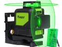 Nivela laser Huepar 902CG cu 8 linii încrucişate