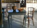 Masa veche din lemn, reconditionata (Masuta/Mobila)