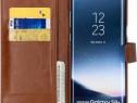 Husa Telefon Wallet Case Samsung Galaxy S8+ g955 Brown