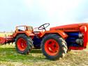 Tractoraș articulat 4x4 Antonio Carraro cu freza 35 cp