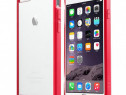 Husa telefon Bumper Silicon Apple iPhone 6 6s red 6g bumpers