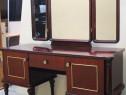 Toaleta vintage cu oglinda; Comoda cu 2 usi si sertar; Dulap