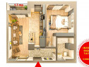 Investitie sigura in Tatarasi / 2 camere / balcon deschis