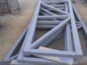 Confecții pe structura metalica hala garaj spălătorie