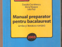 Manual preparator pentru bacalaureat + Memorator limba si li