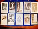 C82A-Semne carte religioase vechi litografice carton 1900.