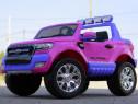 Masinuta electrica pentru 2 copii Ford Ranger 4x4 180W #Roz