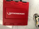Trusă sertizare Rothenberger cu acumulator