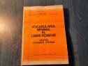 Vocabularul minimal al limbii romane Maria Iliescu