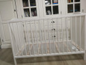 Pat IKEA bebelus + saltea arcuri împachetate 60x120 cm