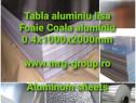Tabla aluminiu lisa striata Diamond Quintet Stucco perforata