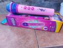 Microfon pentru fetite jucarie pe baterii melodii