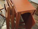Masă de sufragerie +4 scaune
