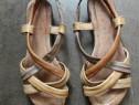 Sandale 37 din piele comode made in Brazilia