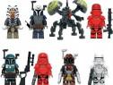 Set 8 Minifigurine tip Lego Star Wars cu Buzz Droid
