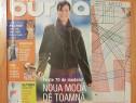 Revista Burda Nr. 10 / 2001. In limba romana. Contine tipare