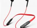 Casti Bluetooth Sport, Handsfree, Neckband, Rosu C560