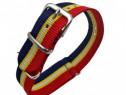 Curea Schimb Bratara Ceas, Tip Nato, Material Textil, Nylon,