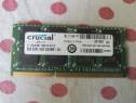 Memorie Ram Crucial 8GB 1600 Mhz DDR3 Laptop.