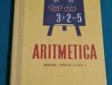 Aritmetica manual pentru clasa i* 1967*constanta teodoresc,