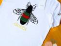 Tricouri Gucci new model logo brodat