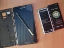 Samsung note 4 display defect crapat cu 2 baterii de rezerva