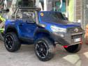 Masinuta electrica pentru 2 copii Toyota Hilux 4WD #Blue