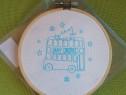 RD212 Set de cusut / brodat Embroidery kit nou