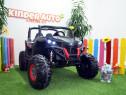 UTV electric pentru 2 copii Rocker 4x35W 12V Cu roti moi