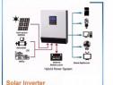 Invertor Solar/Auto Unda Pura 5000 W/48V cu MPPT 80A
