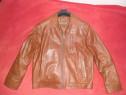 Haina piele naturala , noua (palton, geaca)