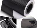 Rola folie carbon 3d - 15M x 1.28 Neagra