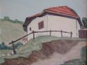 Tablou Spiru Vergulescu,Casa la Tarnovo