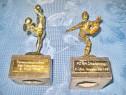 2 Statuiete Fotbalisti-Premii Cupe anii: 1996-1997 si 1998.