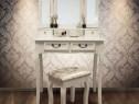 SEA321 - Set Masa alba toaleta cosmetica machiaj oglinda