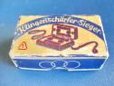 6668-Ascutitor lame barbierit vechi SIEGER-Klingenscharffer.