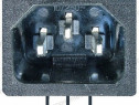 Mufa alimentare, tata, montare PCB, IEC 60320-125312