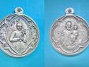 5182-Pere Damien des Lefreux. Medalia catolica veche 1930.