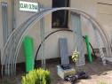 Solar metalic pentru legume si flori 14 m lungime /4 m desch