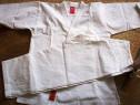 Kimono karate adolescenti + centura albastra gratuit